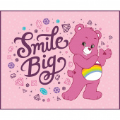 Care Bears - Sparkle & Shine Smile Big in Pink Panel