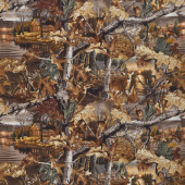 Realtree - Lakeside Sunset Allover Multi Yardage