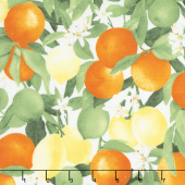 Ambrosia Farm - Citrus Grove Morning Light Fabric Yardage