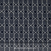 Pond - Diamond Stripes Pepper Yardage