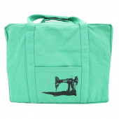 Featherweight Case Tote Bag - Jade Green