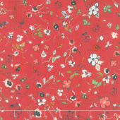 Woodlands - Fusions Joie de Clair Red Yardage