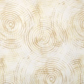 "Circle Play - Circle Cream Tonal 108"" Wide Backing"