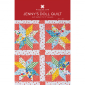 Jenny's Doll Quilt Pattern by Missouri Star