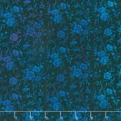 Tapestry - Sprigs Blue Yardage