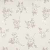 "Serenity - Floral Cream 108"" Wide Backing"
