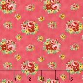 Love & Friendship - Love's Bouquet Blush Yardage