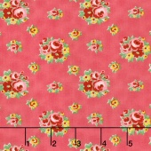 Love & Friendship - Love's Bouquet Blush Yardage