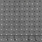 Eclectic Element - Dapper Diamond Black Yardage