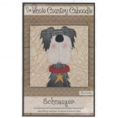 Schnauzer Precut Fused Appliqué Pack