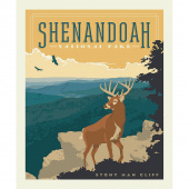 National Parks - Shenandoah Poster Panel