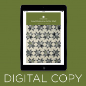 Digital Download - Disappearing 4 Patch Star Quilt Pattern by Missouri Star