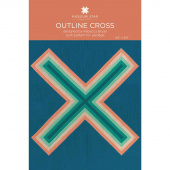 Outline Cross Quilt Pattern