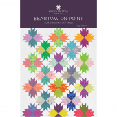 Bear Paw on Point Quilt Pattern by Missouri Star