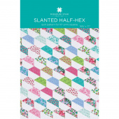 Slanted Half-Hex Quilt Pattern by Missouri Star
