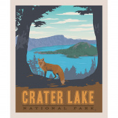 National Parks - National Park Crater Lake Panel