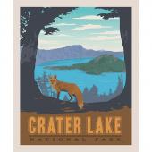 National Parks - National Park Crater Lake Panel