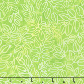 Artisan Batiks - Color Source 8 - Packed Leaves Wasabi Yardage