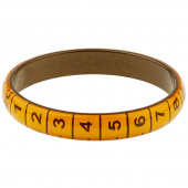 Missouri Star Measuring Tape Bracelet - Thin Orange