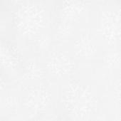 Solitaire Whites - Ultra White Snowflakes Yardage