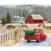 Christmas Memories - Country Christmas Panel