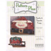 Sewing Machine Cozy Santa and Tomato Pin Cushion Pattern Pak Plus