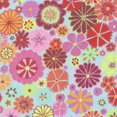Kaffe Artisan - Soprano Folk Flower Pink Yardage