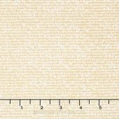 Rustic Elegance - Words Tan Yardage