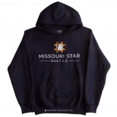 Missouri Star Logo Navy Hoodie - Medium