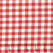 Sugar Sack - Gingham Check Red Yardage