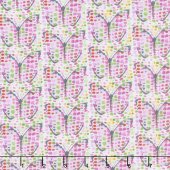 Blossom - Dot Butterflies Foam Digitally Printed Yardage