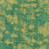 Winter's Grandeur 8 - Holiday Texture Blender Green Metallic Yardage