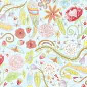 The Dress - Garden Aqua Yardage