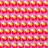 Hello Love - Pop Star Pink Yardage