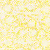 Countryside Batiks - Wheat Sunflower Custard Yardage