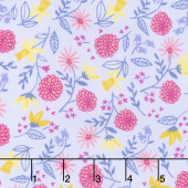 Once Upon a Time - Royal Garden Lavender Yardage