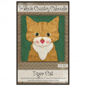 Tiger Cat Precut Fused Appliqué Pack