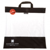 "Missouri Star's SEEYOURSTUFF Bag 16"" x 16"" - Black"