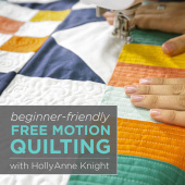buy quilting product Beginner-Friendly Free Motion Quilting ECLASS0008