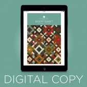 Digital Download - Desert Sunset Quilt Pattern by Missouri Star