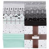 Cozy Cotton Flannels Cool Mint Ten Squares