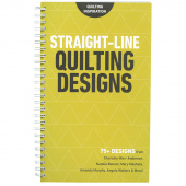 Straight-Line Quilting Designs Book