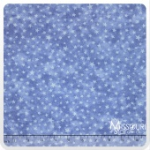Moda Marble Stars - Bright Blue Yardage
