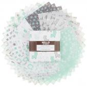 Cozy Cotton Flannels - Mint Charm Pack
