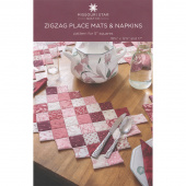 Zigzag Place Mats & Napkins Pattern by Missouri Star