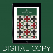 Digital Download - Snowball Star Quilt Pattern by Missouri Star