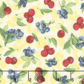Ambrosia Farm - Cherry Berry Sunshine Fabric Yardage