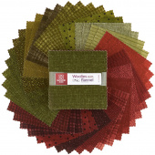 Woolies Flannel Holiday Warmth Charm Pack