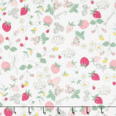 Serendipity - Strawberries Cream Yardage