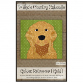 Golden Retriever Gold Precut Fused Appliqué Pack